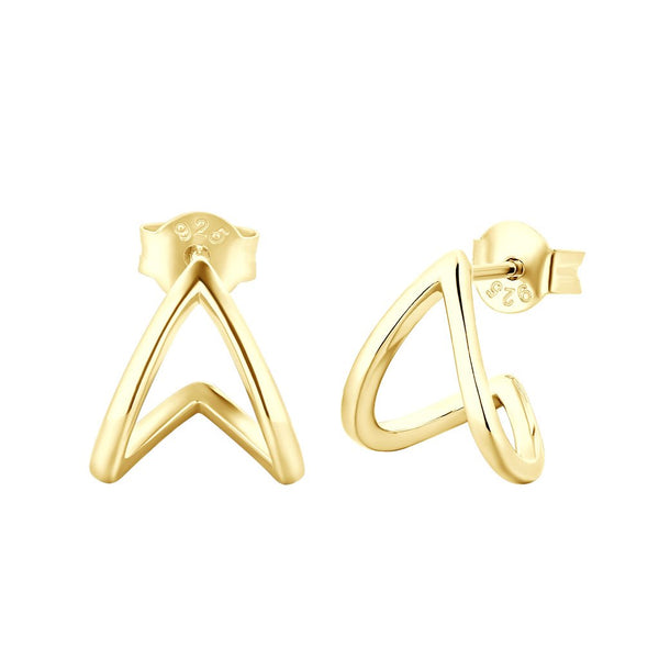 Boucles d'oreilles I.Ma.Gi.N Jewels Bo ring duo Or Jaune - PRECIOVS