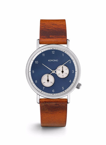 Montre Komono The Walther Cognac W4001