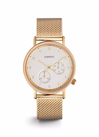 Montre Komono The Walther Gold Mesh W4023 - PRECIOVS