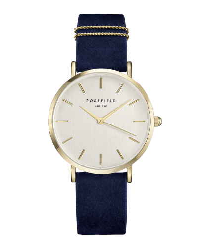 Montre Rosefield THE WEST VILLAGE Blue Gold WBUG-W70 - PRECIOVS