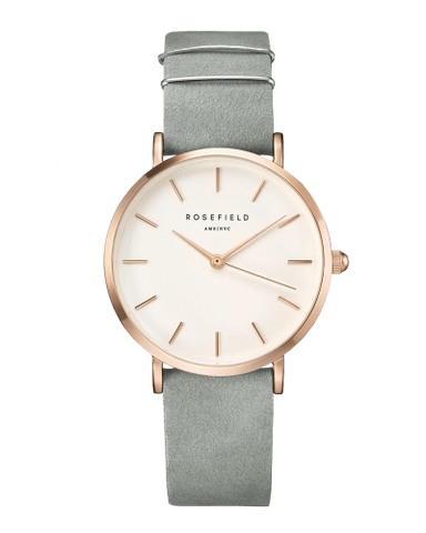 Montre Rosefield THE WEST  VILLAGE Mint Grey Rosegold WMGR-W74