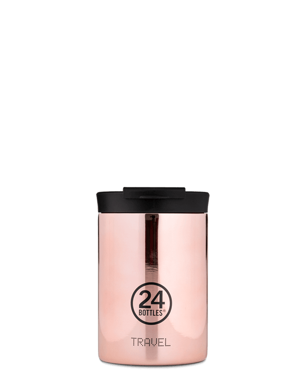 Mug isotherme 24Bottles Travel Tumbler Rose Gold 350ml