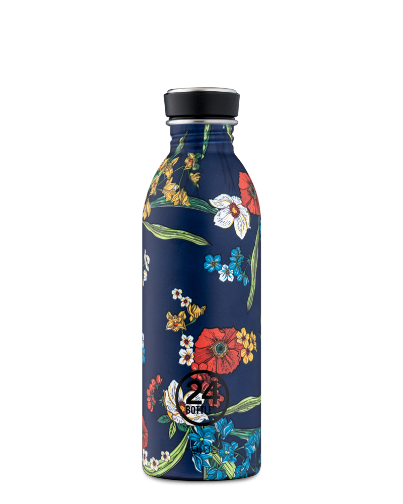 Bouteille réutilisable 24Bottles Urban Bottle Denim Bouquet 500ml - PRECIOVS