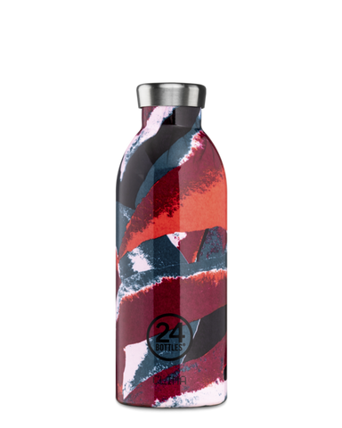 Bouteille réutilisable 24Bottles Clima Bottle Flower Flame 500ml