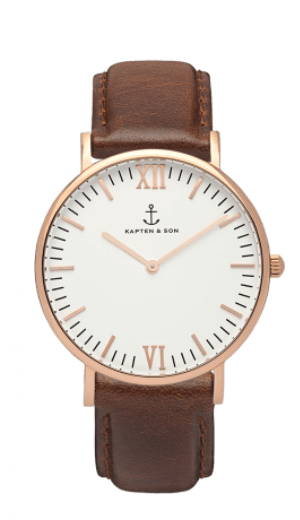 Montre Kapten & Son Brown Leather - PRECIOVS