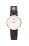 Montre Daniel Wellington Classy York 26mm Rose Gold/Brun - PRECIOVS
