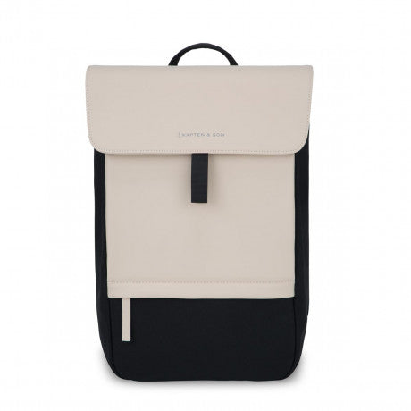 Sac à dos Kapten & Son Fyn Cream Black