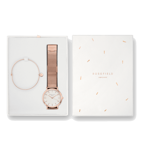 Coffret Rosefield The Mercer Blanc Or Rose + The Wooster Or Rose Medium - PRECIOVS