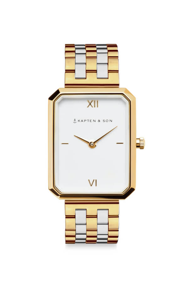 Montre Kapten & Son Grace Gold Bicolor Steel