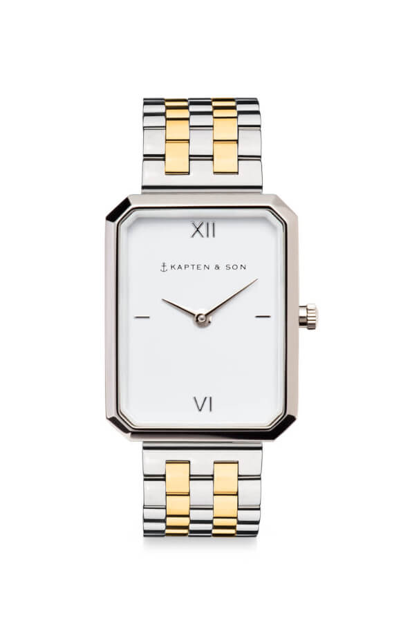 Montre Kapten & Son Grace Silver Bicolor Steel
