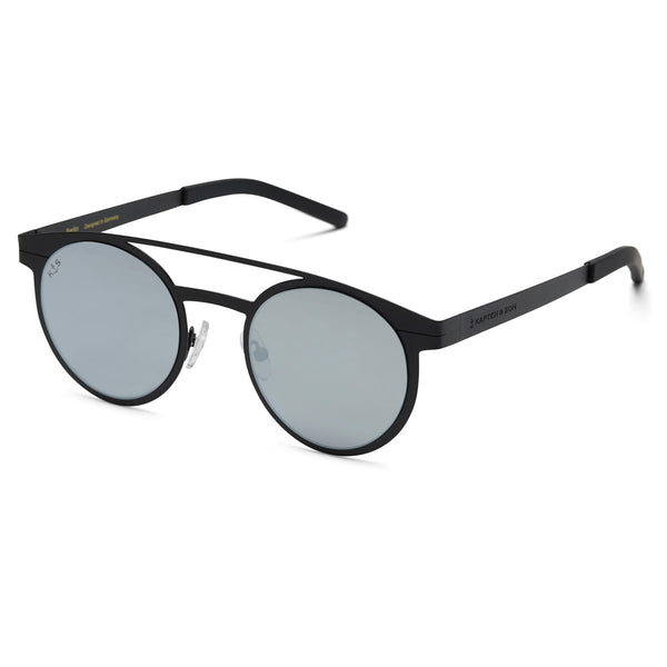 Lunettes de soleil Kapten & Son Berlin Summernight Grey Mirrored - PRECIOVS