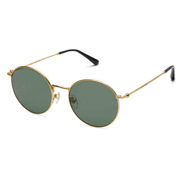 Lunettes de soleil Kapten & Son London Gold Green - PRECIOVS