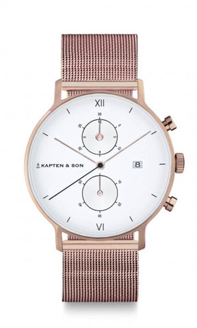 Montre Kapten & Son Chrono Mesh