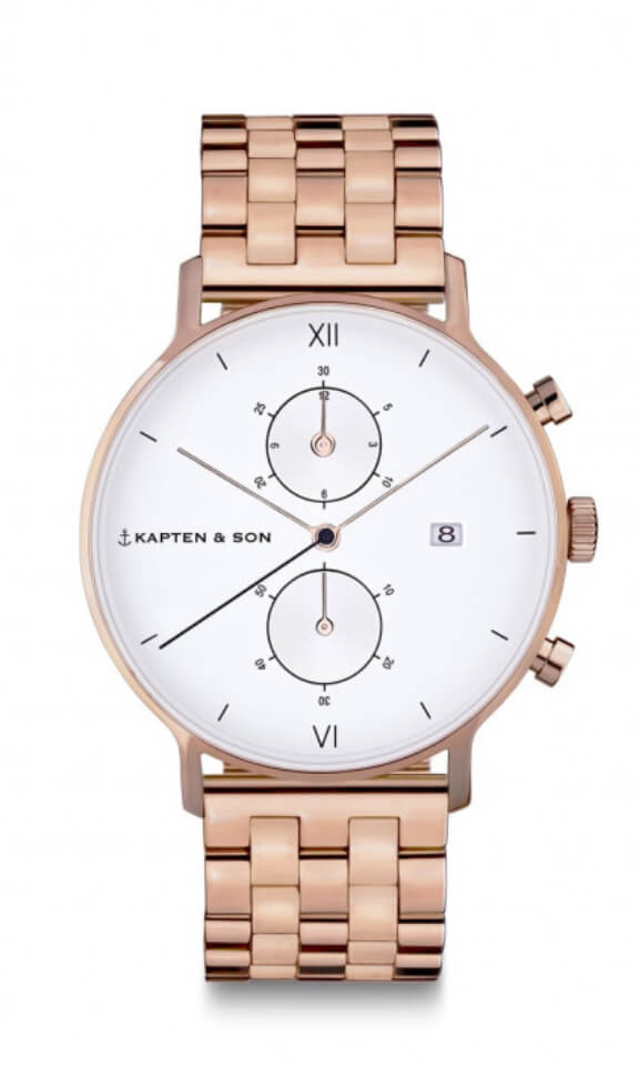 Montre Kapten & Son Chrono Steel - PRECIOVS