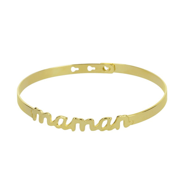 "Coffret Mya Bay ""I LOVE YOU MAMA"" bracelet ""Maman"" et bague ""Love"" - PRECIOVS"
