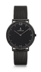 Montre Kapten & Son Black Midnight Mesh - PRECIOVS