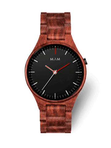 Montre bois MAM Originals VOLCANO 697