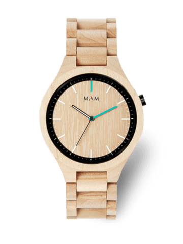 Montre bois MAM Originals VOLCANO 698