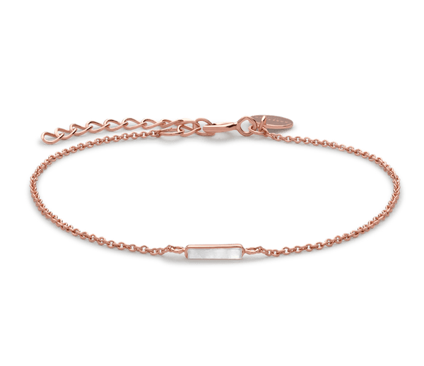 Bracelet Rosefield The Mott Rose gold - PRECIOVS