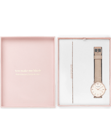 Coffret Rosefield Blush Box The West Village Rose Tendre + The Baxter Or Rose - PRECIOVS