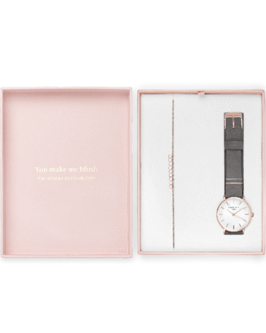 Coffret Rosefield Blush Box The West Village Gris Éléphant + The Baxter Or Rose - PRECIOVS