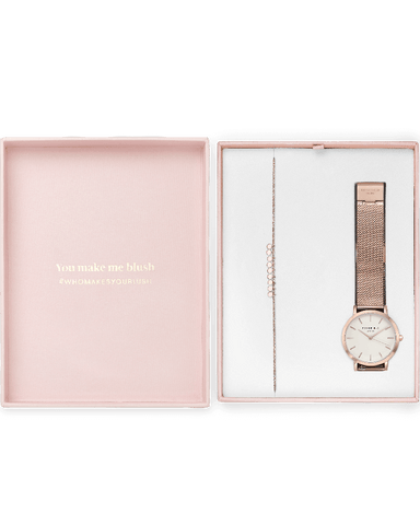 Coffret Rosefield Blush Box The Tribeca Or Rose + The Baxter Or Rose - PRECIOVS