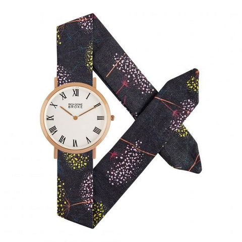 Montre RICH GONE BROKE Rose Gold Marcel Flower Fireworks