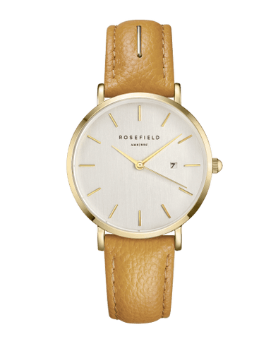 Montre Rosefield THE SEPTEMBER ISSUE Fashion Editor Gold Mustard SIFE-I80 - PRECIOVS