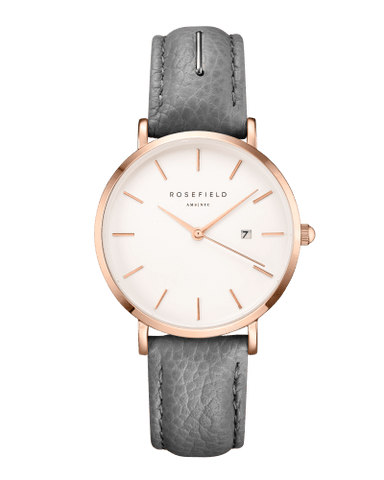 Montre Rosefield THE SEPTEMBER ISSUE Graphic Designer Rose Gold Grey SIGD-I82 - PRECIOVS