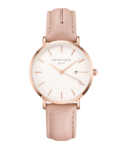 Montre Rosefield THE SEPTEMBER ISSUE Beauty Editor Rose Gold Pink SIBE-I81 - PRECIOVS