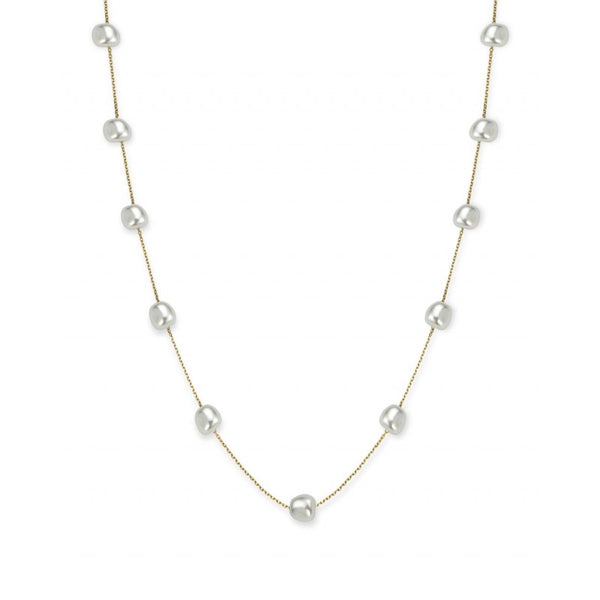Collier Rosefield The Jane Liquid Multi Pearl Chocker Gold J176 - PRECIOVS