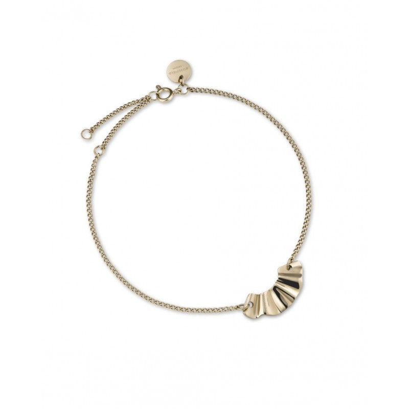 Bracelet Rosefield The Lois Liquid Waved Charm Gold J236 - PRECIOVS
