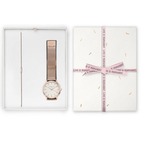 Coffret Rosefield Blush Box The Tribeca Or Rose + The Mott Or Rose