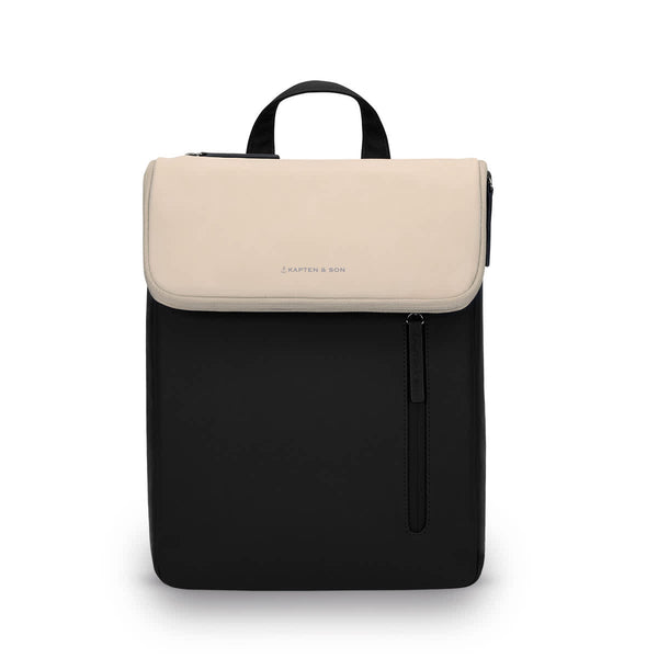 Sac à dos Kapten & Son Vallen Cream Black - PRECIOVS