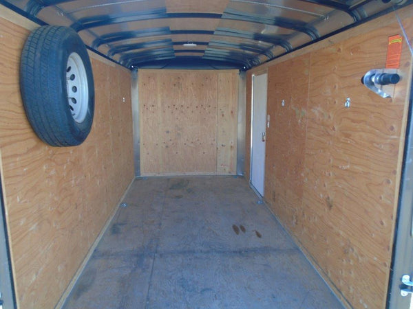 6X12 Single Axle Enclosed