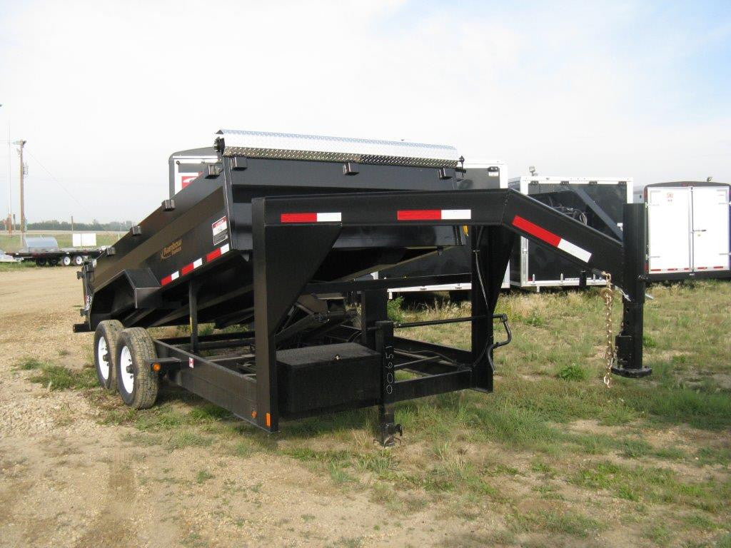 Rainbow Gooseneck Dump Trailer Series