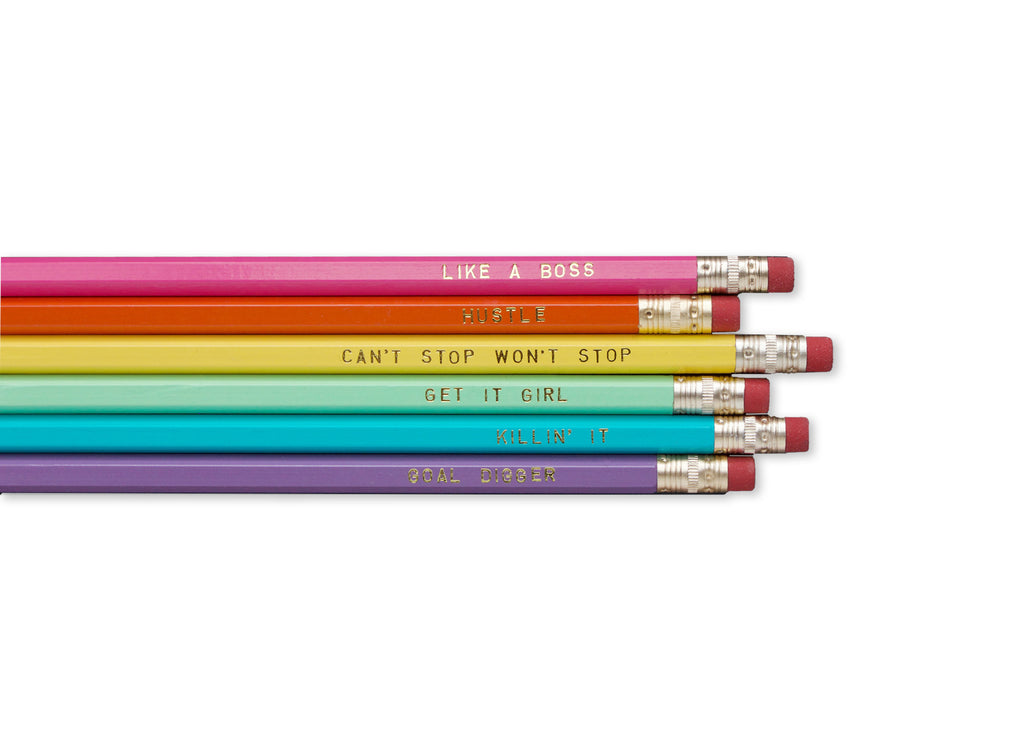 Boss Pencil Set
