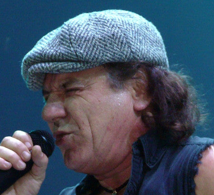 "Getting Brian Johnson ""Back in Black"""