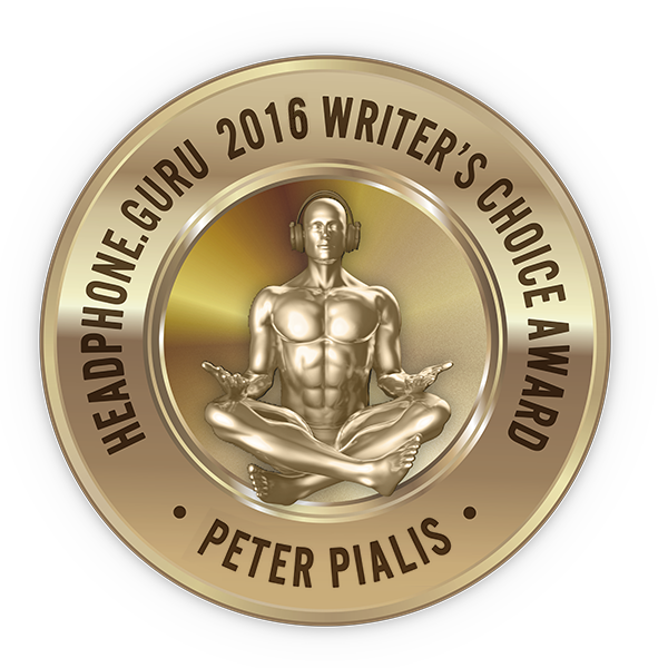 Headphone Guru 2016 Writer's Choice Award for ADEL™  Technology