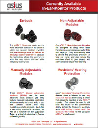 Asius Technologies - Current Products