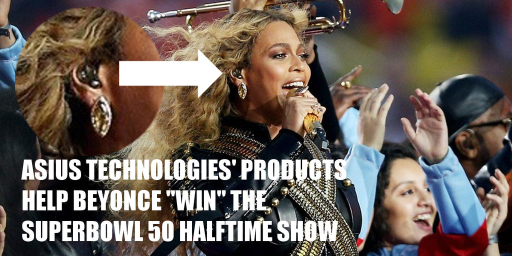 Beyonce uses Asius products during Super Bowl 50 Halftime Show