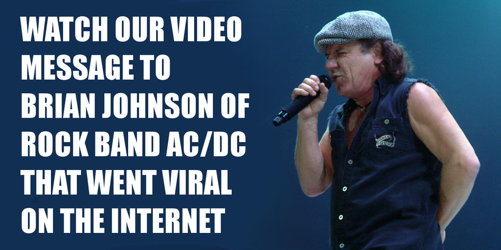 Asius Technologies reaches out to Brian Johnson of AC/DC about his hearing lost