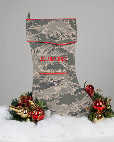 U.S. Air Force C-130 Christmas Stocking