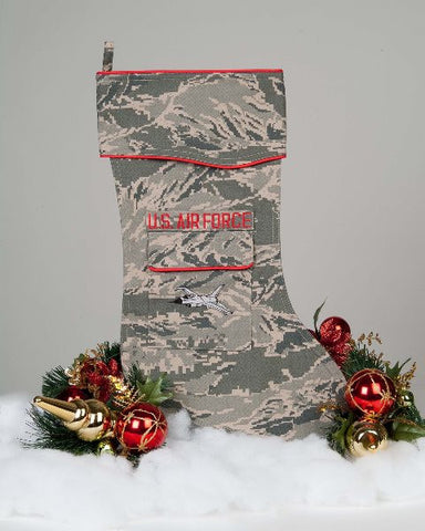 U.S. Air Force F-16 Christmas Stocking