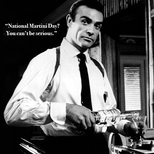It's National Martini Day (And We Couldn't Care Less).