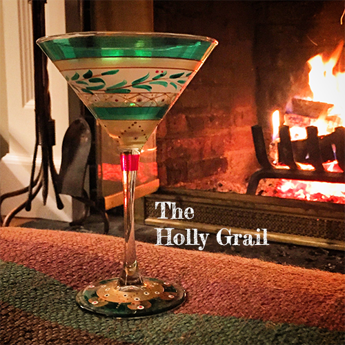 Holly Grail martini glass at Tini Grails