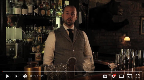 Jim Meehan, bartender, teaches us how to make a perfect martini