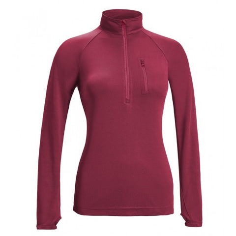 Women's Half Zip Run Away Top - AI314