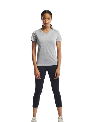 Women's SS Natural Feel Jersey V-Neck - AT202