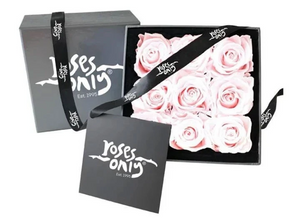 9 Light Pink Year Long Infinity Roses